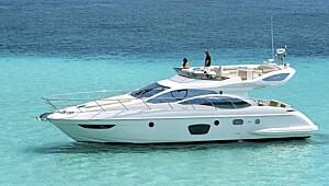 Diger og lekker italiensk luksusbåt