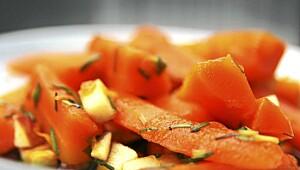 Snadder til gulrøttene