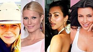 Quiz: Ser du om kjendisene har på seg sminke?