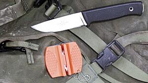 Test av knivskjerpere