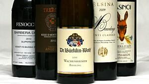 De beste vinene til ribbe