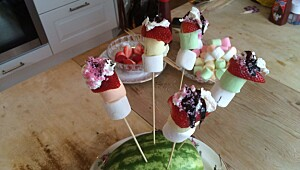 Barnas jordbærspyd