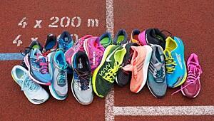 De beste skoene til mengdetrening