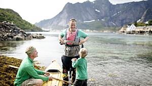 Ferie i Lofoten med barn