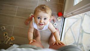 Utviklingen til den 12 måneder gamle babyen