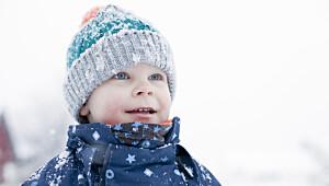 Så lite kulde tåler barna