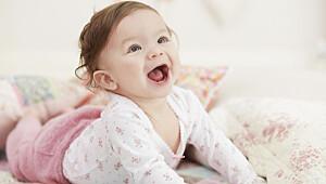 Når babyen er 8 måneder