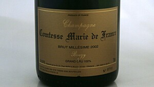 Paul Bara Comtesse Marie de France Grand Cru Brut 2002